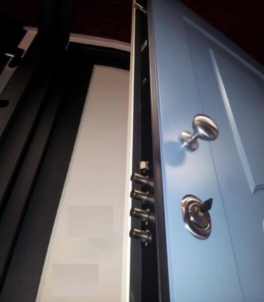 Блиндирани врати - Защита