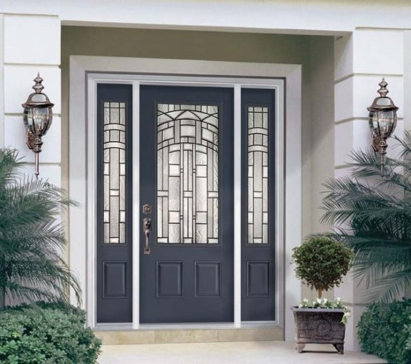 Метална врата - Дом