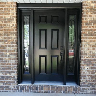 Метална екстериорна врата